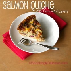 Salmon Quiche recipe