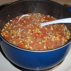 Beef and Black-Eyed Pea Soup recipe
