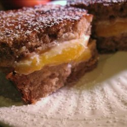 Toasted Peach Sandwich recipe