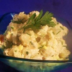 Potato Egg Salad With Herbs recipe