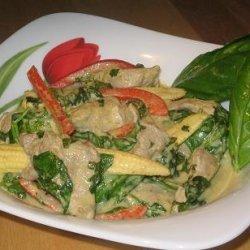 Thai Pork and Baby Corn Stir Fry recipe