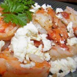 Tomato Shrimp With Feta Cheese recipe