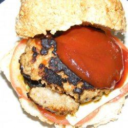Sara's Chilli Beef Burger recipe