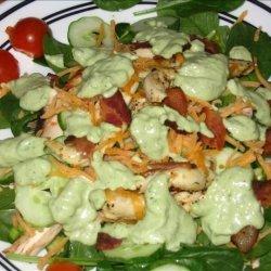 BLT Salad With Avocado Dressing recipe