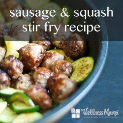 Summer Squash Stir-Fry recipe