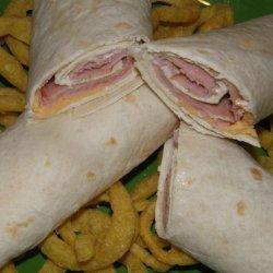 Luscious Lunch Wrap recipe