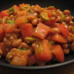 Baked Bean Salad recipe