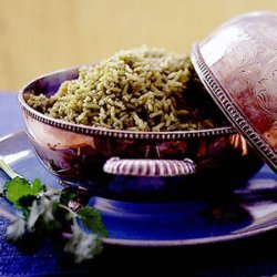 Arroz Verde (Green Rice) recipe