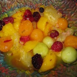 South-Of-The-Border Fruit Salad - 1 Ww Point recipe