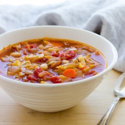 Cabbage and White Bean Soup recipe