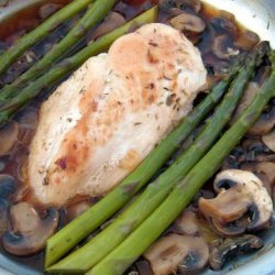 Pan Roasted Chicken With Vegetables recipe