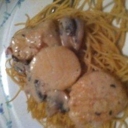 Scallops Marsala recipe