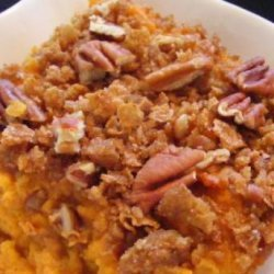 Best Ever Sweet Potato Casserole With Pecan Topping recipe