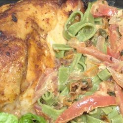 Broiled Chicken With Fettuccine Earl's recipe