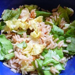 Easy Rice Salsa Salad recipe