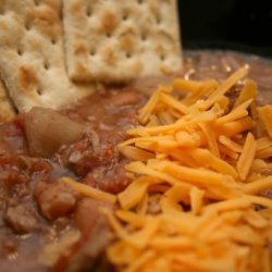 Cowboy and Indians Soup - Chuck Wagon Chili Crock Pot recipe