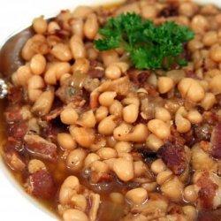 Navy Bean and Bacon Soup recipe