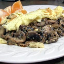 Omelette With Mushrooms for One recipe