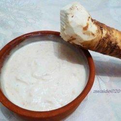Creamed Horseradish recipe