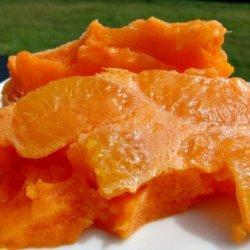 Orange Jello Salad recipe