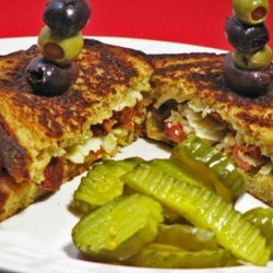 Fried Cheese Sandwiches recipe