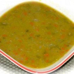 Soupe Au Pois a Memere (French Canadian Pea Soup) recipe