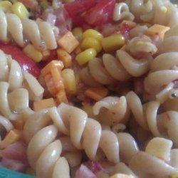 Ham and Cheese Pasta Salad recipe