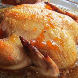 Apricot Teriyaki Roasted Chicken recipe