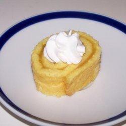 Swiss Roll With Lemon - Curd Filling recipe