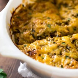 Chicken and Zucchini Casserole recipe