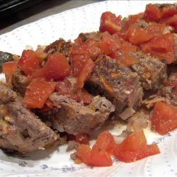 Meatloaf With Tangy Tomato Gravy recipe