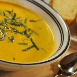 Grilled Yellow Tomato Bisque recipe