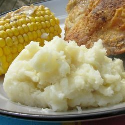 Top of the Line Garlic Mashed Potatoes recipe
