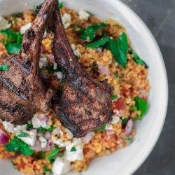 Mediterranean Lamb Chops recipe