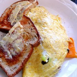 Turkey Sausage and Cheese Omelet recipe