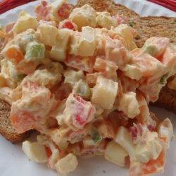 Egg and Tomato Salad Sandwiches (Pita Bread) recipe