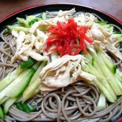Soy Chicken and Green Tea Noodle Salad recipe