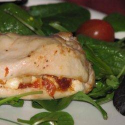 Chevre and Sun-Dried Tomato Chicken recipe