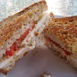 Greek Grilled Cheese Sandwich recipe