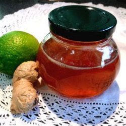 Lemon Ginger Infused Honey recipe