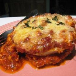 Dianne's Eggplant Parmesan recipe