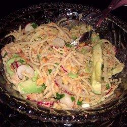 Asian-Peanut and Pasta Salad recipe