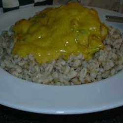Chicken With Curry and Lemon Sauce recipe