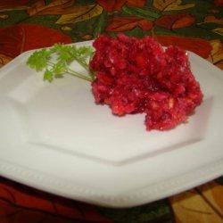 Grandma's Cranberry Relish recipe