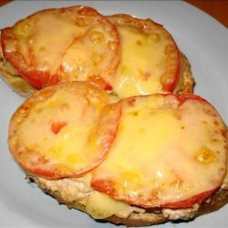 Open Face Tuna Melt Sandwich recipe