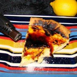 Lemon Crème Brulee Tart recipe