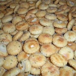 Ranch Style Oyster Crackers recipe