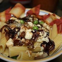 Pasta with Gorgonzola and Sweet Onion recipe