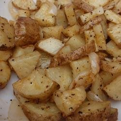 Microwaved Potatoes Lyonnaise recipe