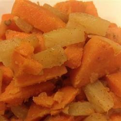 Sweet Potato Pineapple Casserole recipe